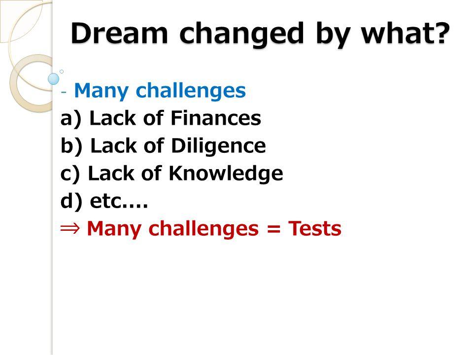 Broken Dream!! Have you?