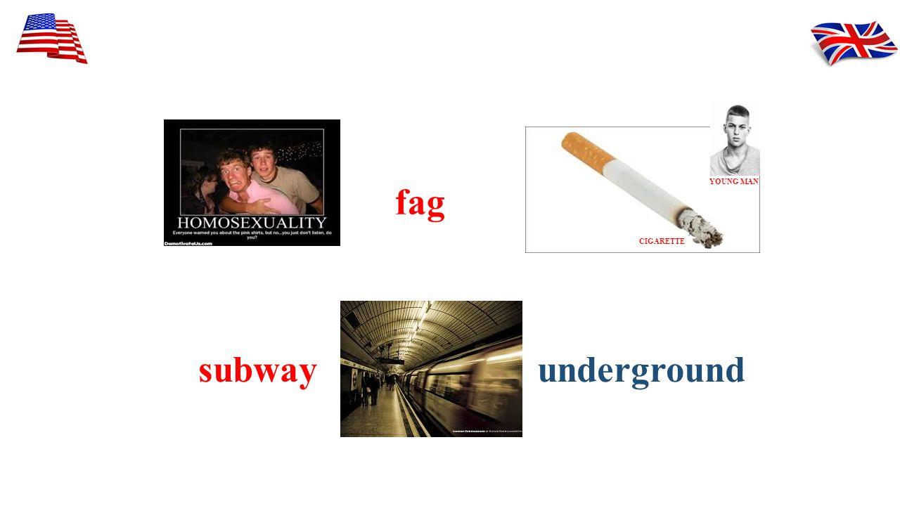 fag undergroundsubway CIGARETTE YOUNG MAN