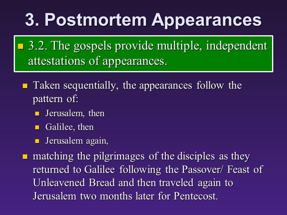 3. Postmortem Appearances 3.2.