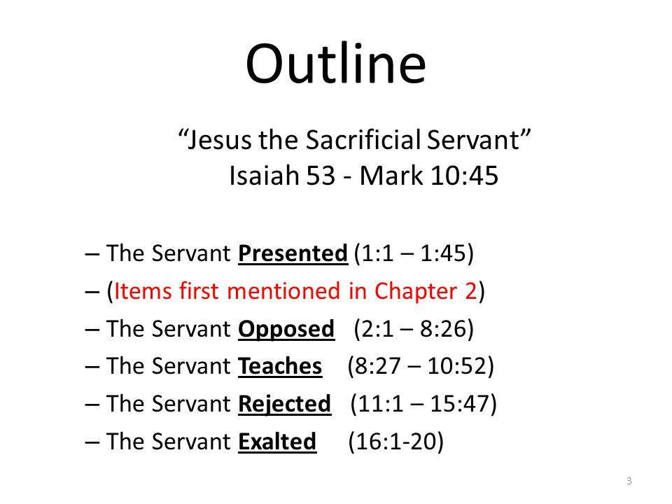 Controversial Stories in Mark Over Jesus' right to forgive sins2:1-12 Over fellowship with sinners2:13-17 Over the need for fasting2:18-22 Over picking grain – the Sabbath2:23-27 Over the source of Jesus' power3:22-30 Over the nature of Jesus' family3:31-35 Over eating with unwashed hands7:2-5,14-23 24