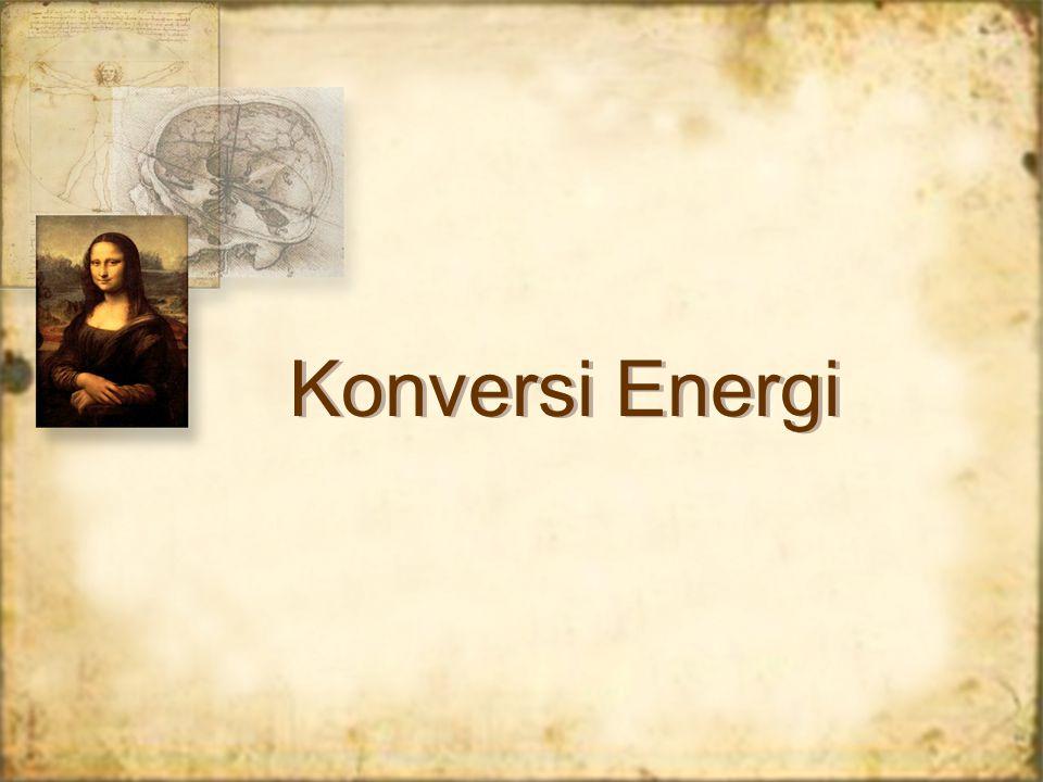 Konversi Energi