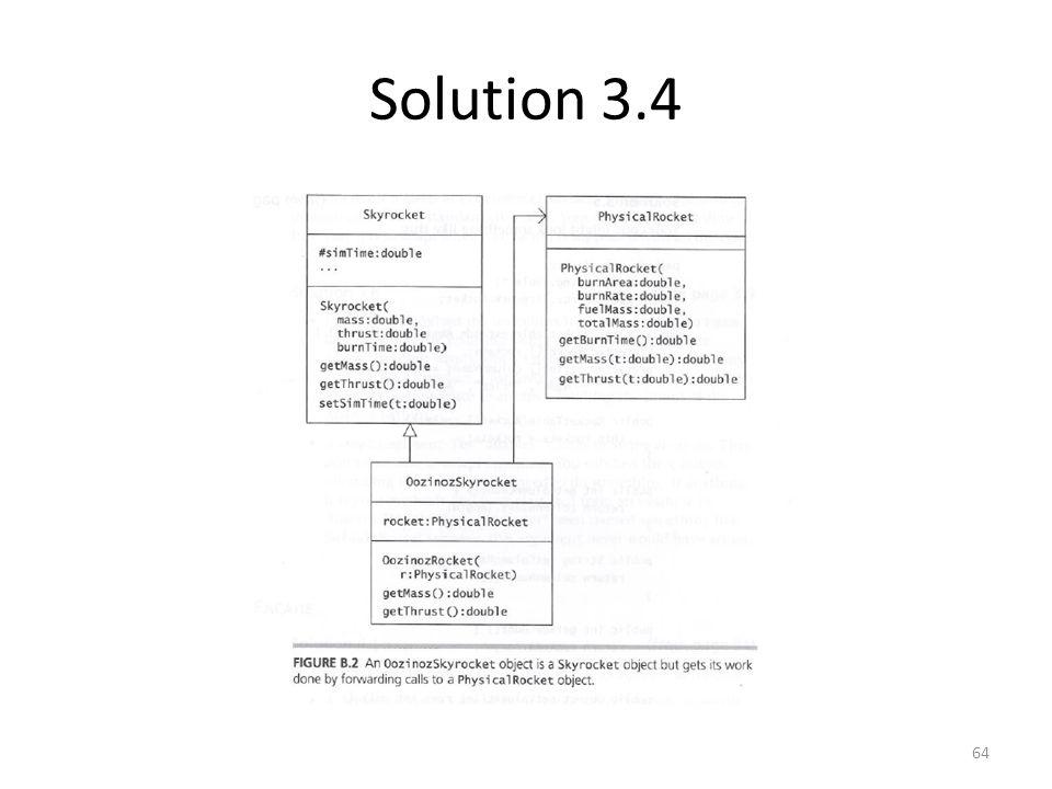 Solution 3.4 64