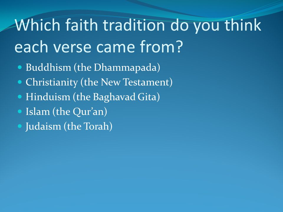 Diffusion of Monotheism Judaism was the second (or first) great monotheistic religion However, it was not until Christianity and Islam emerged that monotheism spread By 500 BCE, there were four hearths of religion: Greece (Greek Philosophy) India (Hinduism) Israel (Judaism) China (Chinese philosophies)