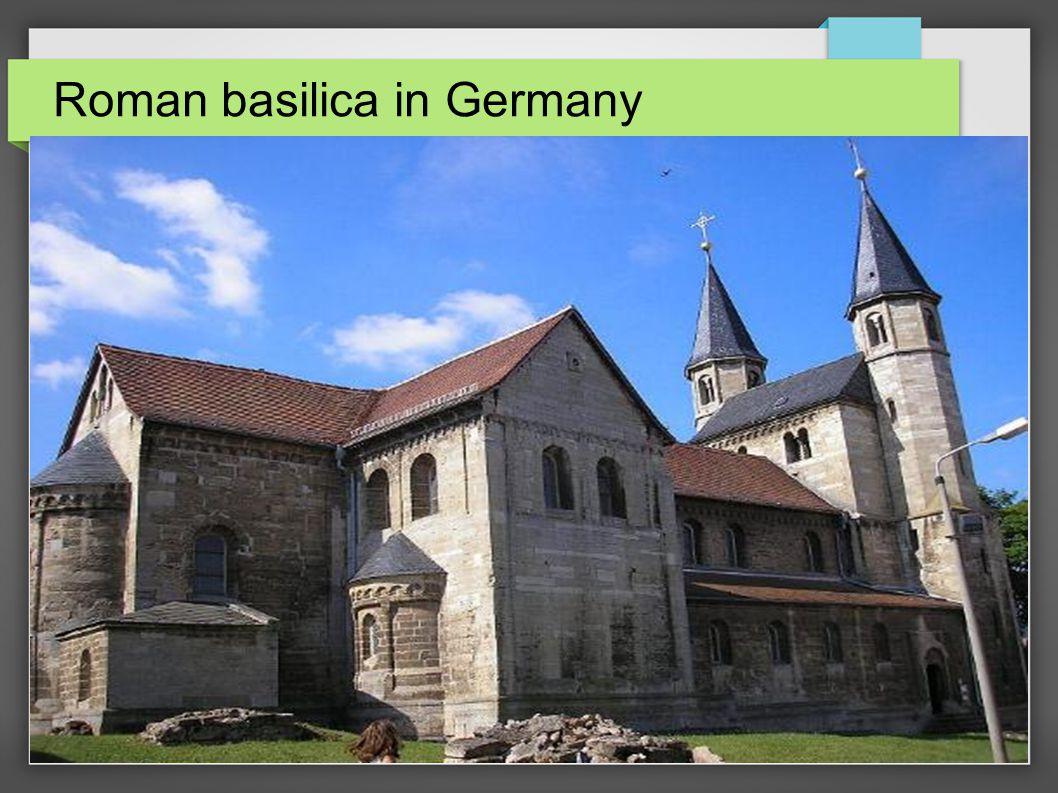 Roman basilica in Germany