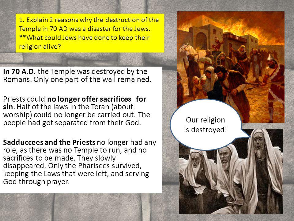 HW Make a 3D model of the Jerusalem Temple