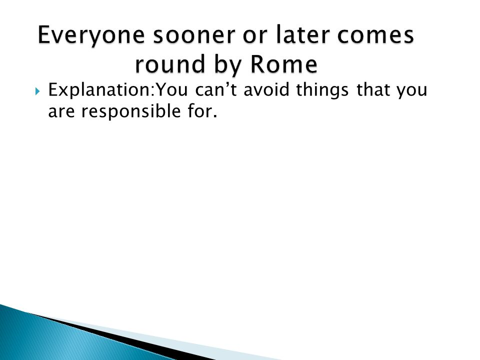QUOTES WITH THE WORD ROME