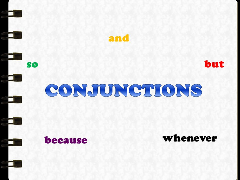 -came from a Latin word which mean to join with or to join together -connectors