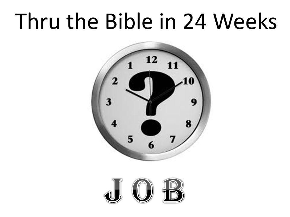 Thru the Bible in 24 Weeks