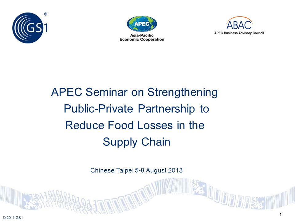 Agenda -Overview of ABAC proposal to APEC CTI (SOM3) -Overview of The Consumer Goods Forum -Future Value Chain Trends 2020 -Supply Chain Complexity -Traceability -Product Recall -Case Studies -Summary 2