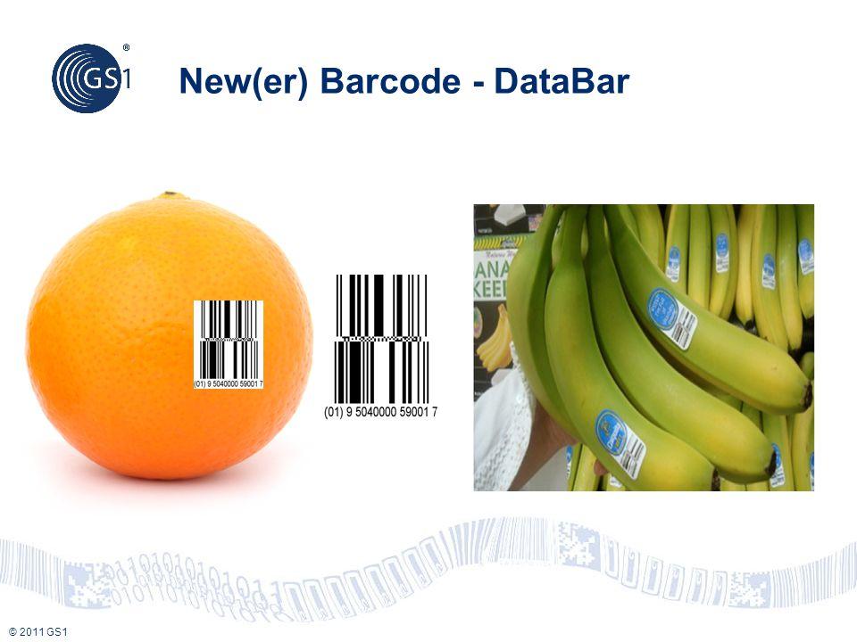 © 2011 GS1 New(er) Barcode - DataBar