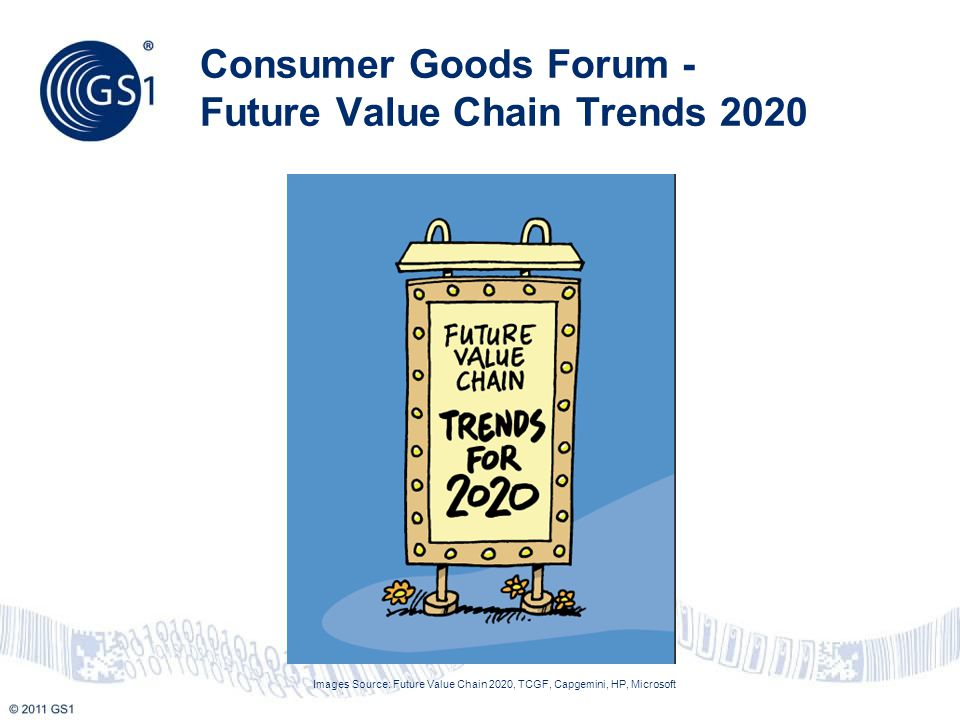 Increased Urbanization Aging Population Increasing Spread of Wealth Increased Impact of Consumer Technology Adoption Increase in Consumer Service Demands Increased Importance of Health and Wellbeing Growing Consumer Concern about Sustainability Shifting of Economic Power Scarcity of Natural Resources Increase in Regulatory Pressure Rapid Adoption of Supply Chain Technology Capabilities Impact of Next- Generation Information Technologies Source: Future Value Chain 2020, TCGF, Capgemini, HP, Microsoft http://www.slideshare.net/koen.klokgieters/2020-future-value-chain-presentation 5 Guess what ?....older consumers cannot always read the small print on labels………but they can expand the text on their smart phone after scanning the barcode and accessing trusted sources of data….