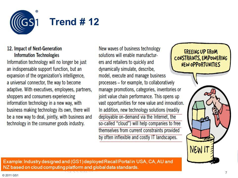 8 Source: Future Value Chain 2020, TCGF, Capgemini, HP, Microsoft