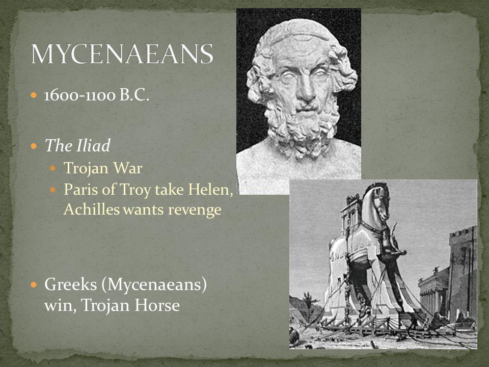 1600-1100 B.C.