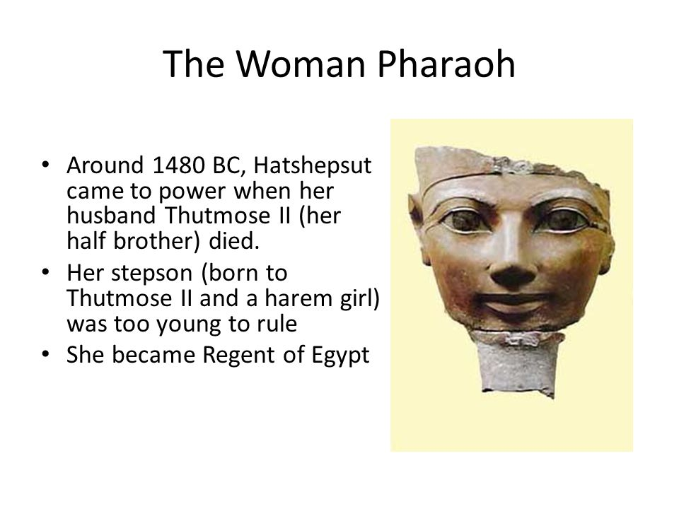 Ahmose was the first ruler of the New Kingdom, first to use the title pharaoh (great house of the king) Ahmose rebuilt Egypt to even greater glory