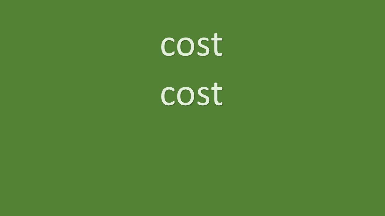 cost cost
