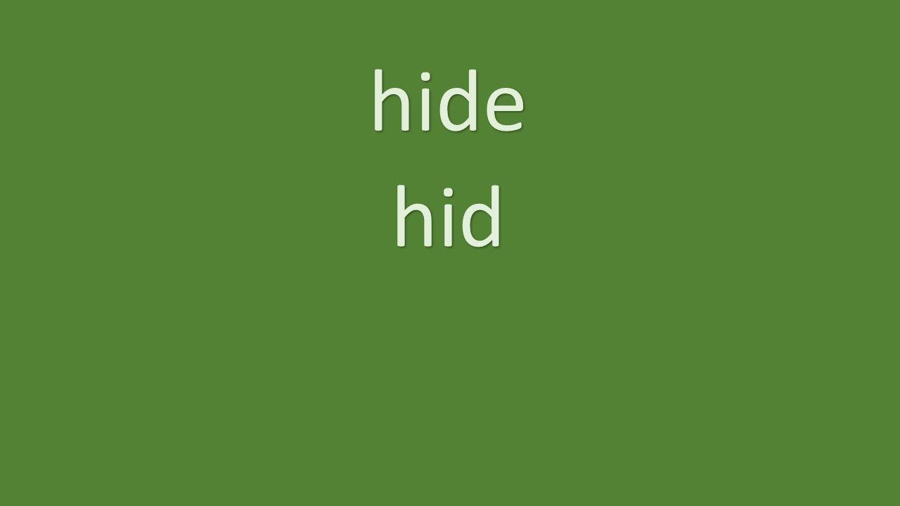 hide hid