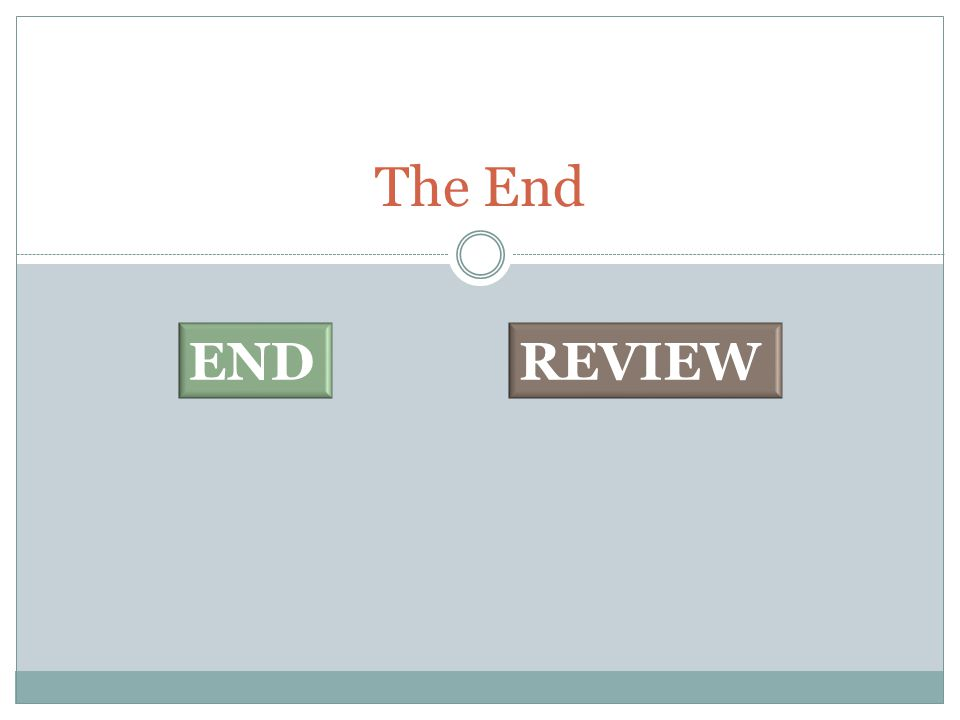 The End REVIEWEND
