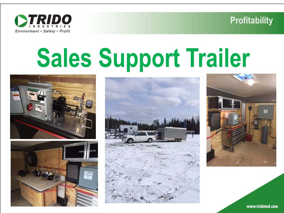Profitability Sales Support Trailer