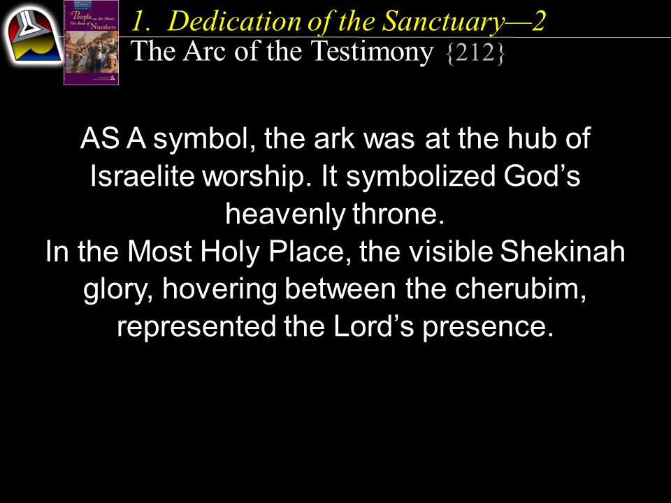AS A symbol, the ark was at the hub of Israelite worship.
