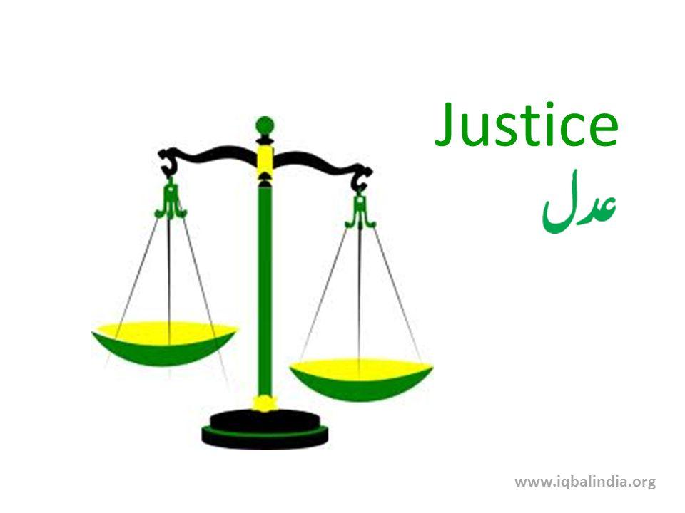 Justice www.iqbalindia.org