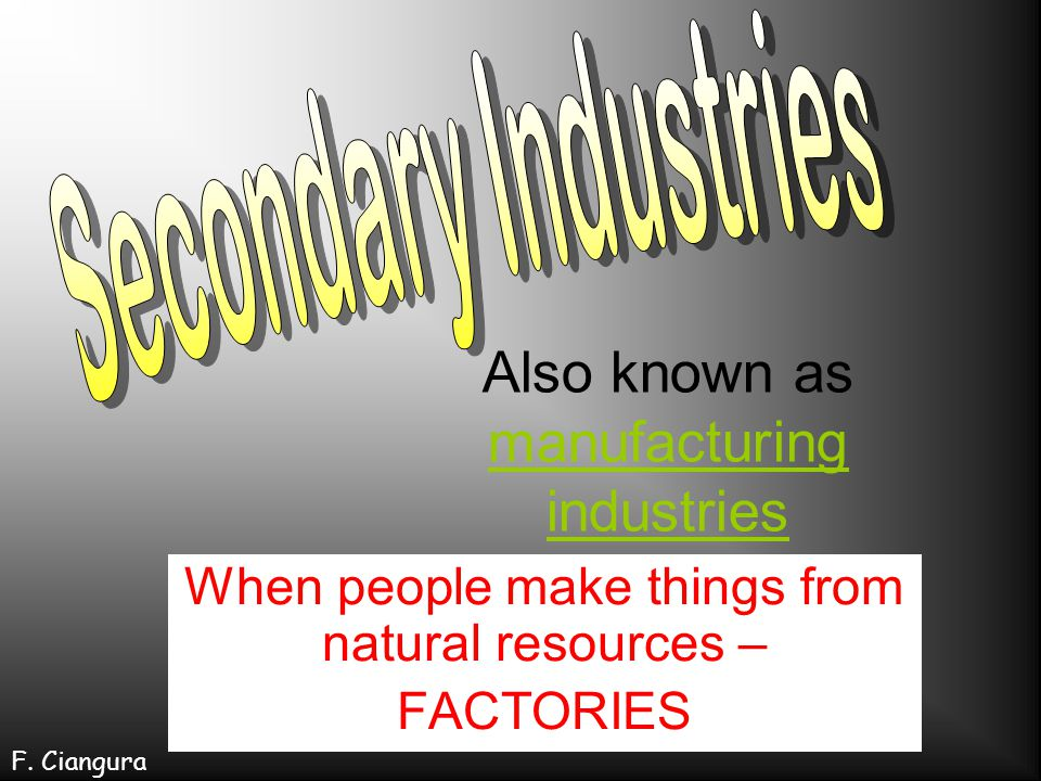 Industrialisation began in Britain in the 18 th and 19 th century.
