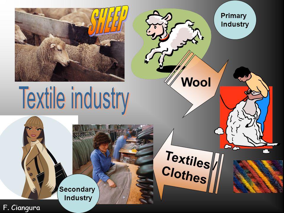 Where can I build my textile mill.1. Near raw materials = sheep farming 2.