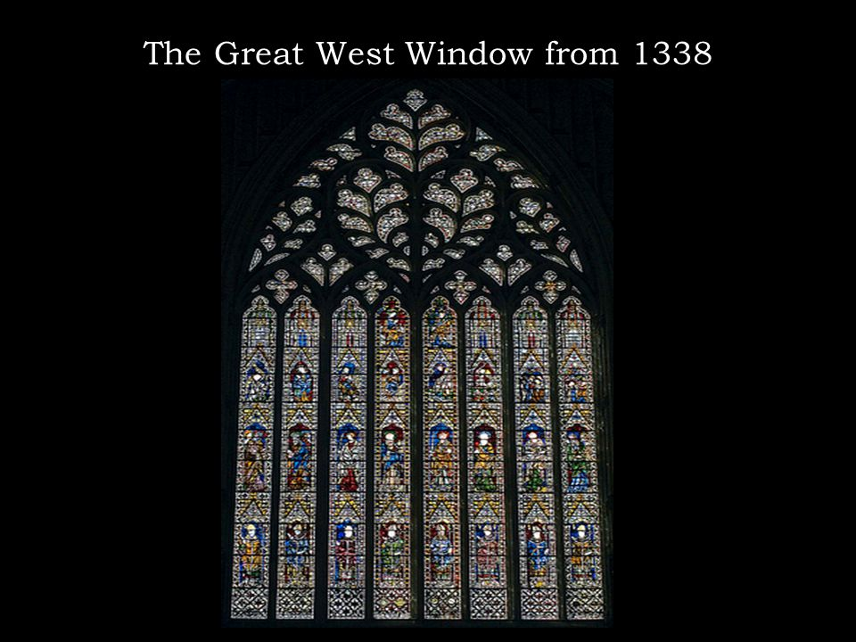 The Great West Window from 1338