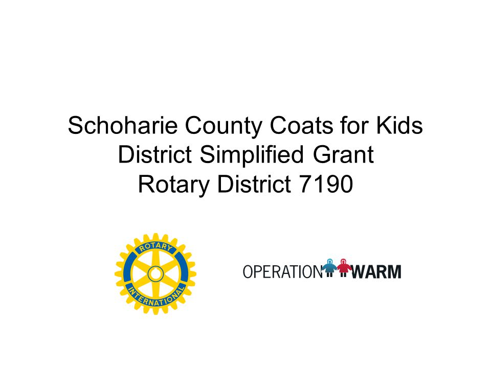 Operation Warm Coats Arrive Victor Charities
