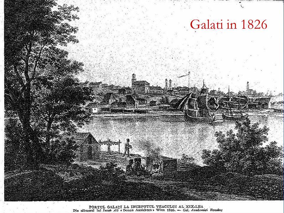 Galati in 1826