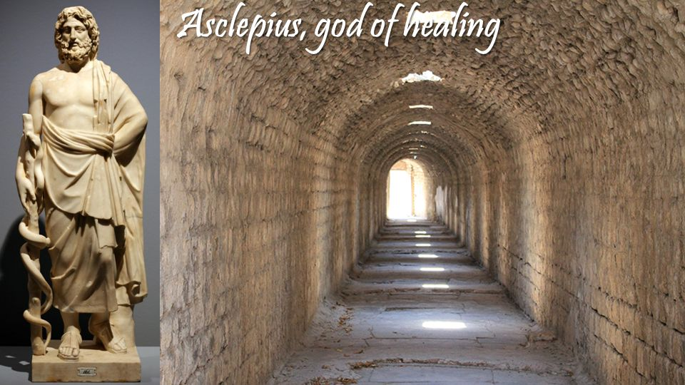 Asclepius, god of healing