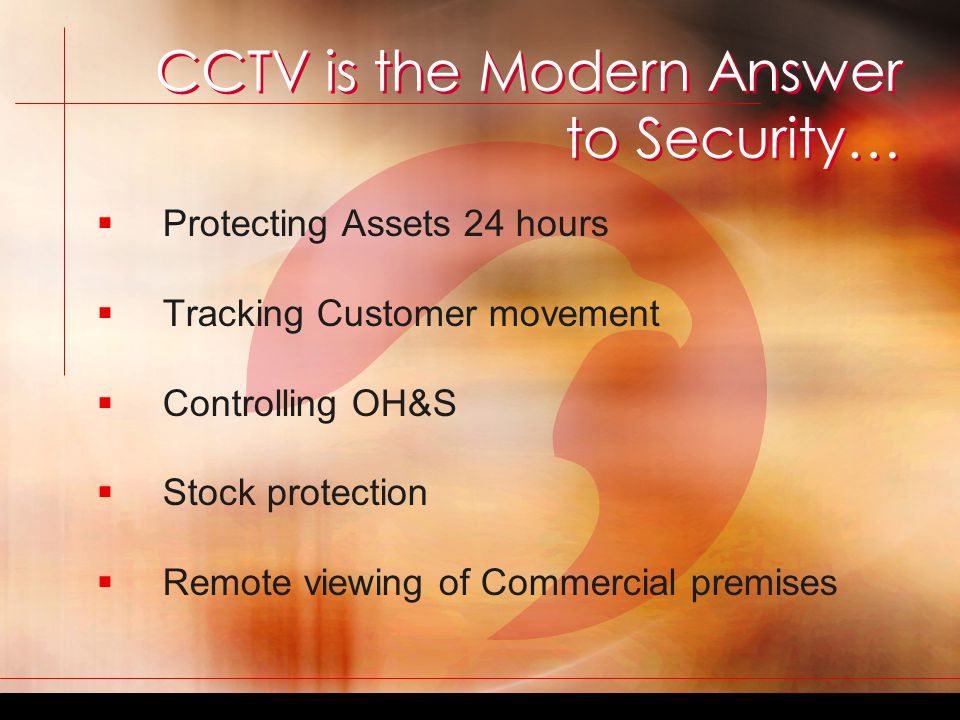 If you answered YES to any of these questions ART Security has the solution for you.