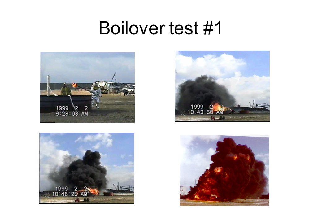 Boilover test #1
