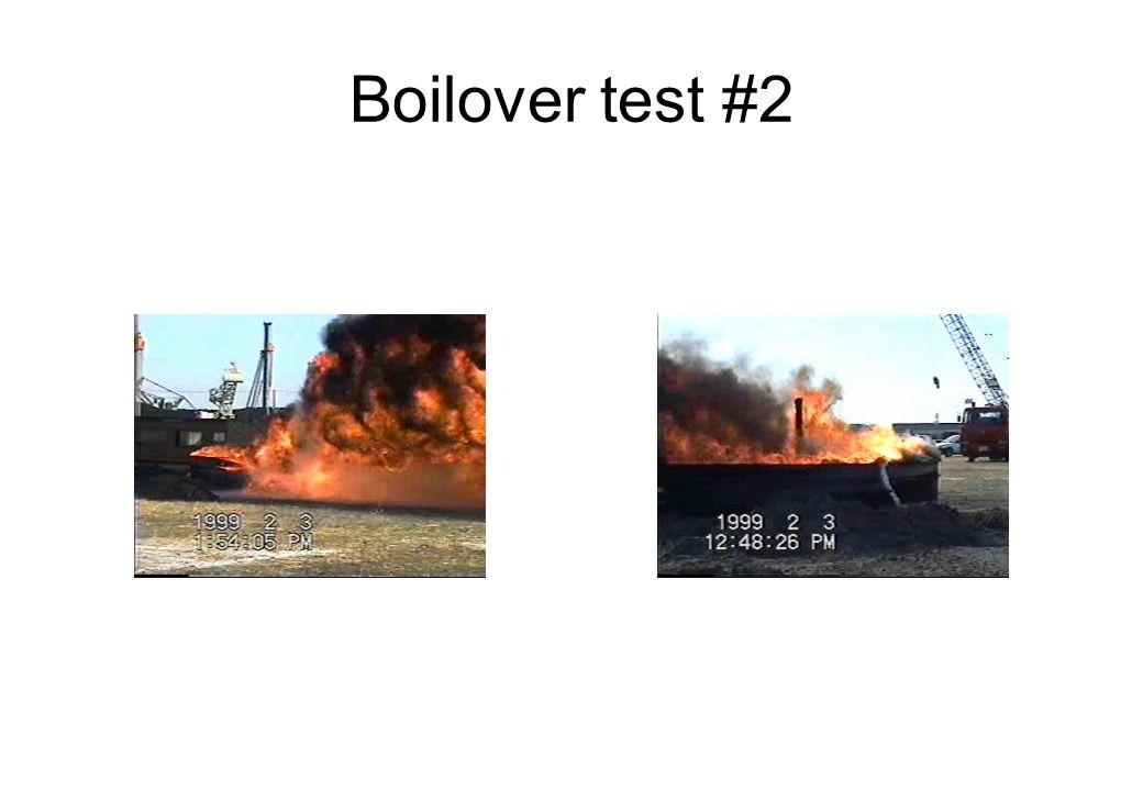 Boilover test #2