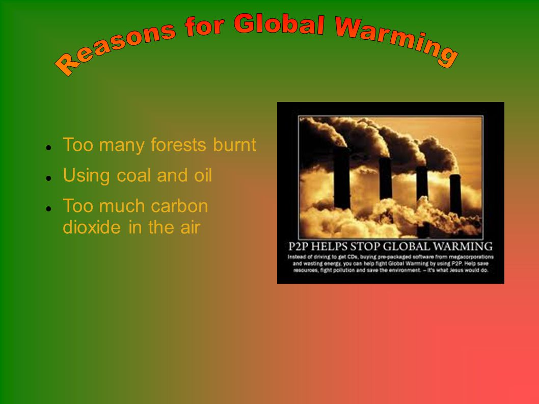 GLOBAL WARMING!!! What is global warming And Why is it a problem Why is it a problem