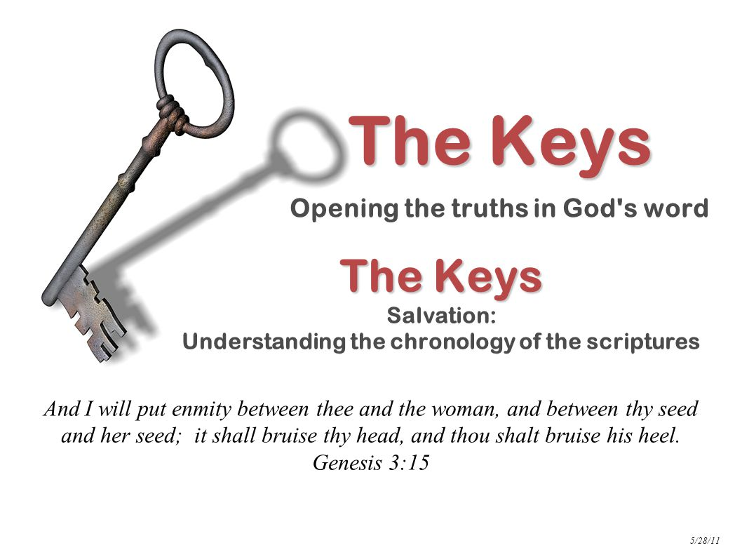 NT Salvation: The Keys Revealed …Then Peter said unto them, Repent, and be baptized every one of you in the name of Jesus Christ for the remission of sins, and ye shall receive the gift of the Holy Ghost.