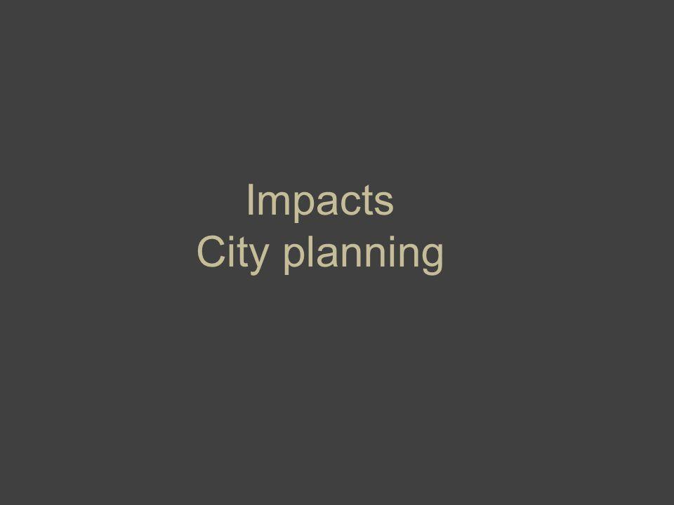 Impacts City planning