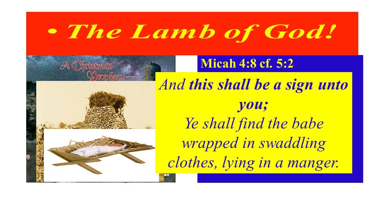 Micah 4:8 cf.