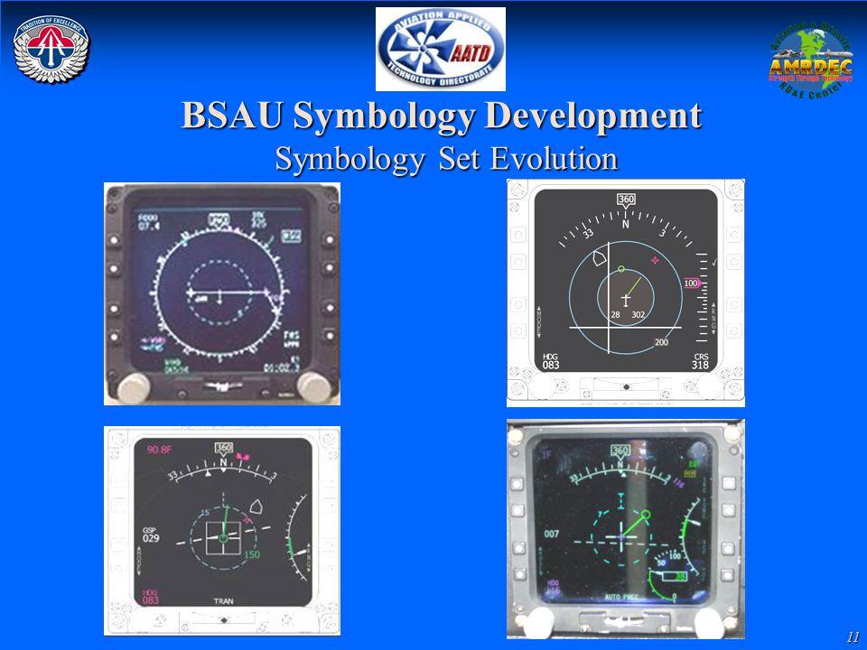 11 BSAU Symbology Development Symbology Set Evolution