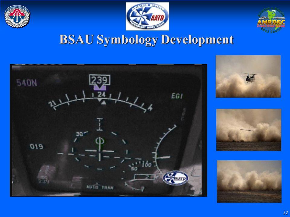 12 BSAU Symbology Development