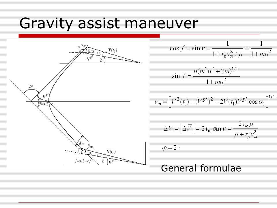 3D gravity assist maneuver