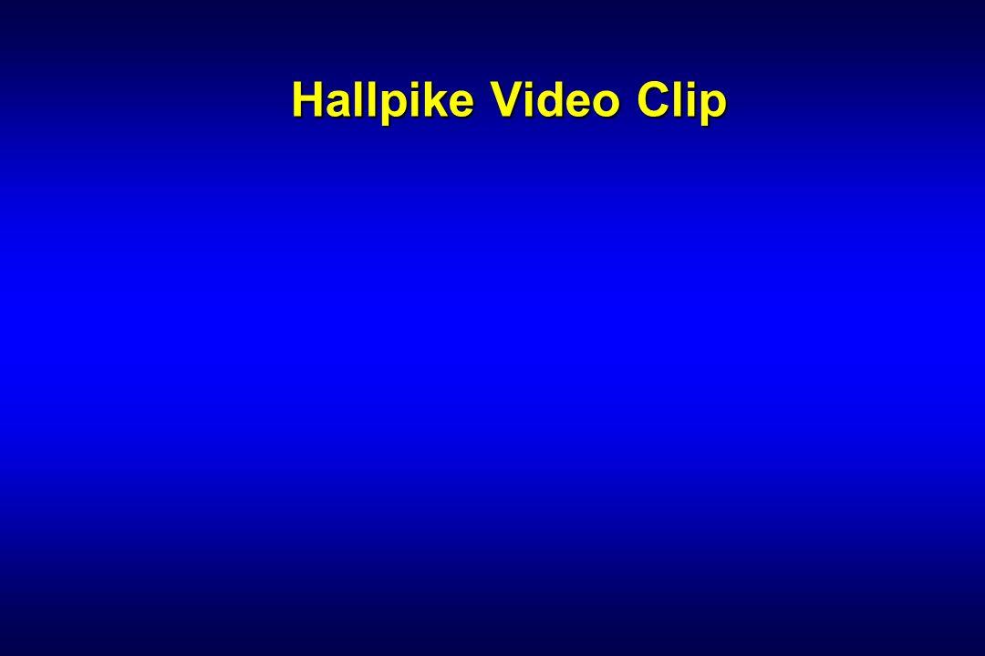Hallpike Video Clip