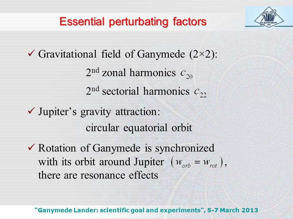Evaluation of polar circular orbit Ganymede Lander: scientific goal and experiments , 5-7 March 2013