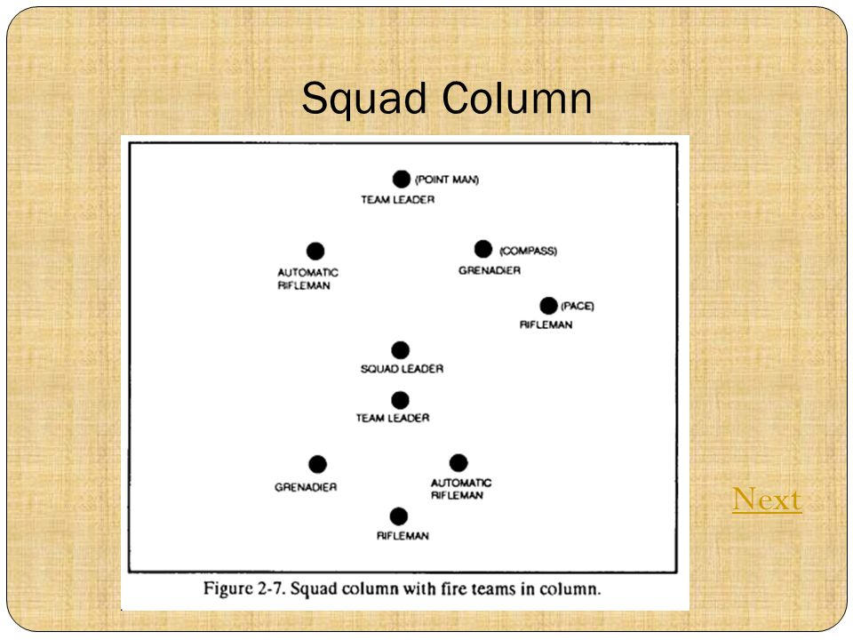 Squad Column Next