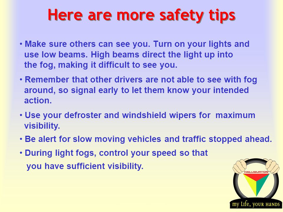 Transportation Tuesday Here are more safety tips Make sure others can see you.