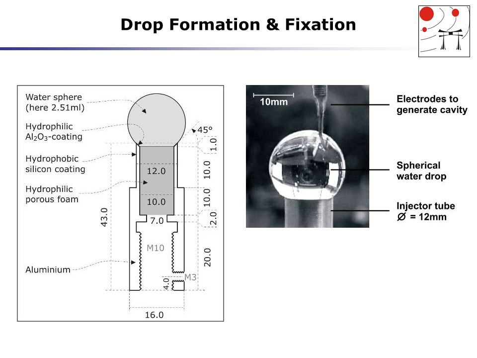 Drop Formation & Fixation