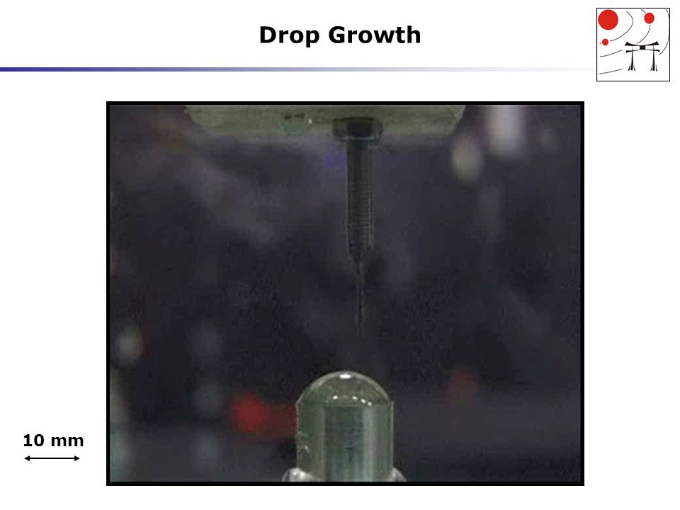 Drop Growth 10 mm