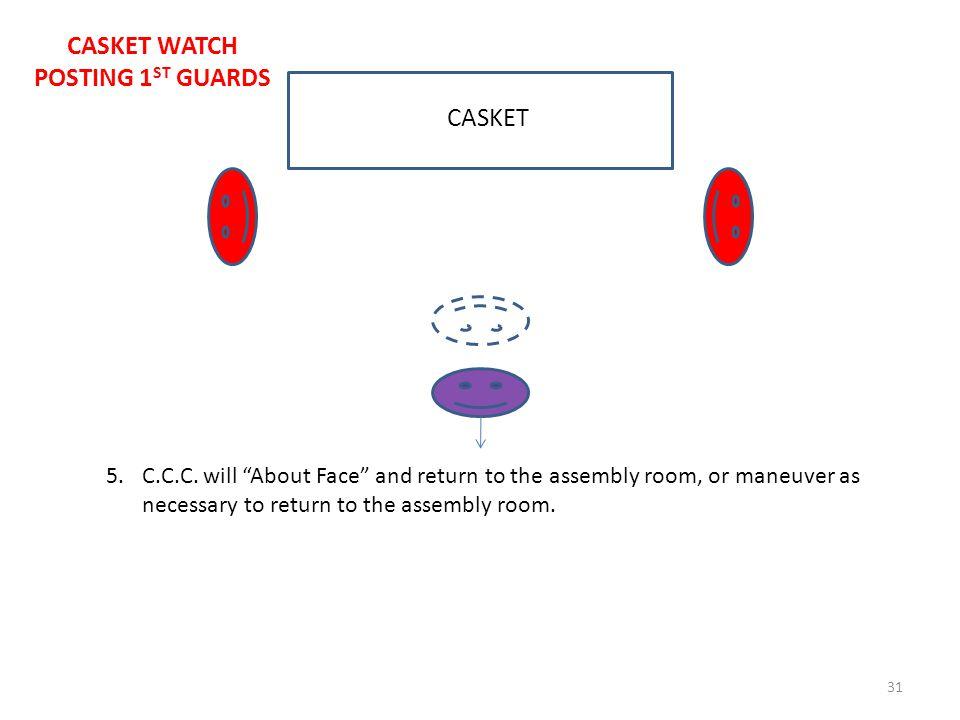 31 CASKET 5.C.C.C.