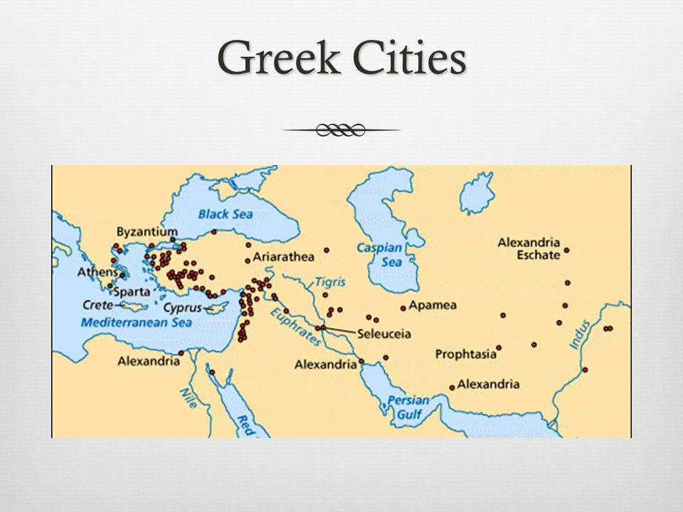 Greek Cities