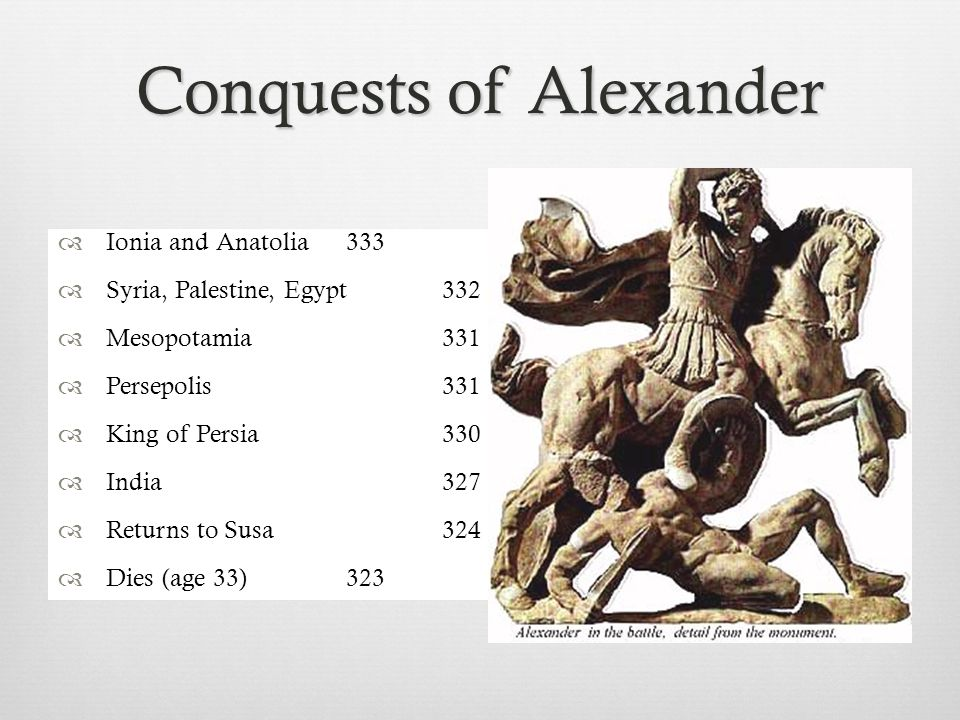 Warfare in the Age of Alexander  Phalanx: A formation of infantry carrying overlapping shields and long spears, developed by Philip II and used by Alexander the Great