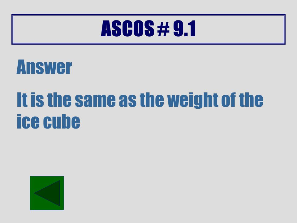 ASCOS # 9.1 Answer Because of Bernoulli's principle (difference in speed of air) and decrease of pressure which provides lift.